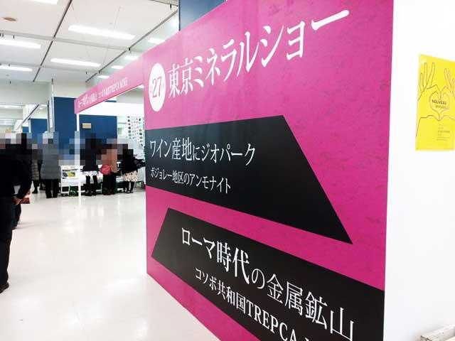 東京ミネラルショー2018へ行く「特別展示」