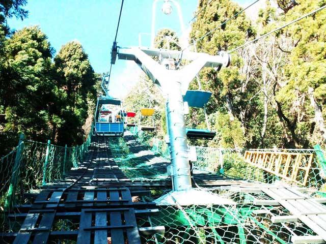 高尾山へ行く2019「リフト」