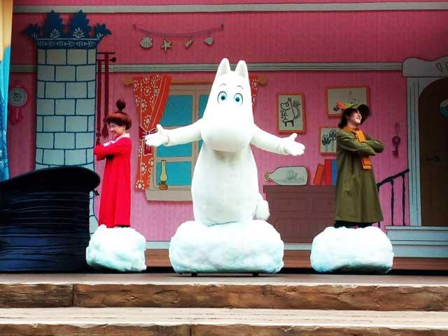 ムーミンバレーパークへ行く「エンマの劇場」