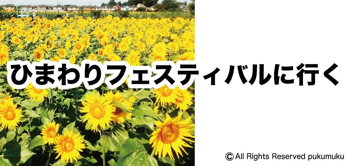 ひまわりフェスティバル2019へ行く