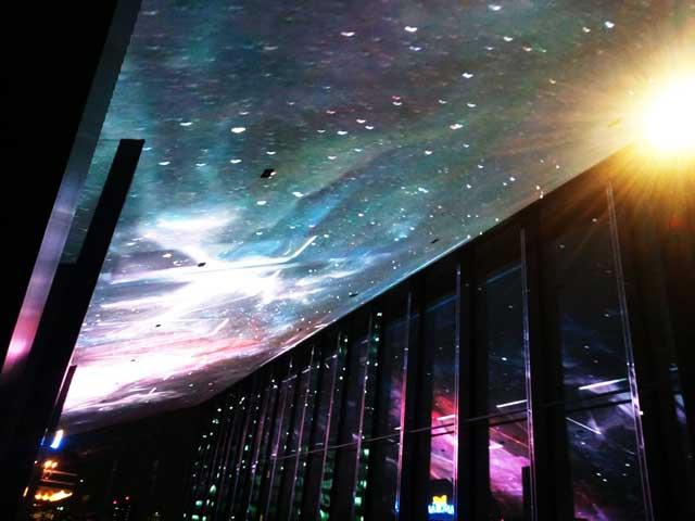 グランドシネマサンシャインに行く「天井スクリーン」