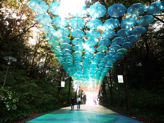 アンブレラスカイ 「青い傘」