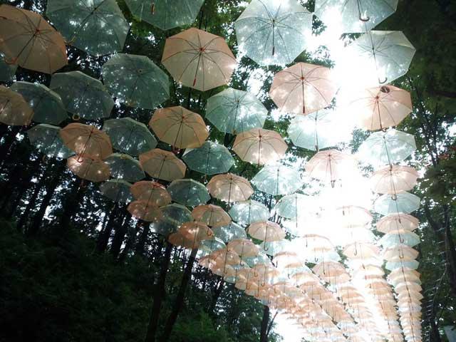 アンブレラスカイ 「色あせた傘」
