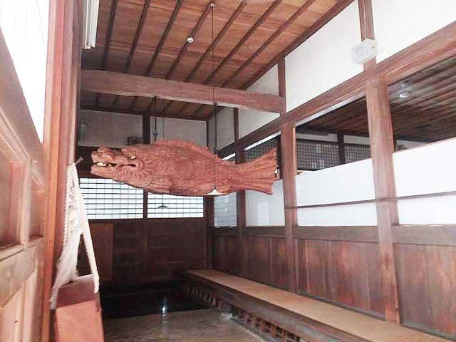 永平寺へ行く「木魚」