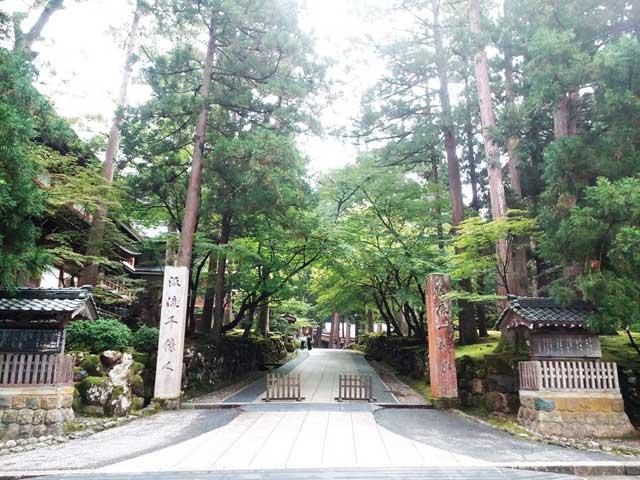 永平寺へ行く「龍門」