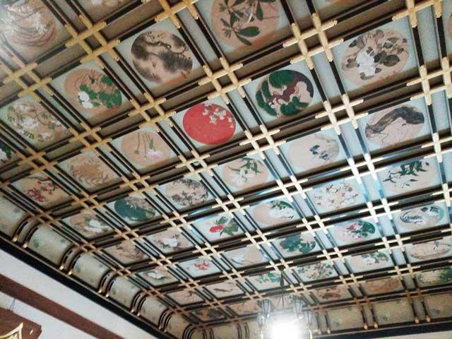 永平寺へ行く「傘松閣さんしょうかく天井画」
