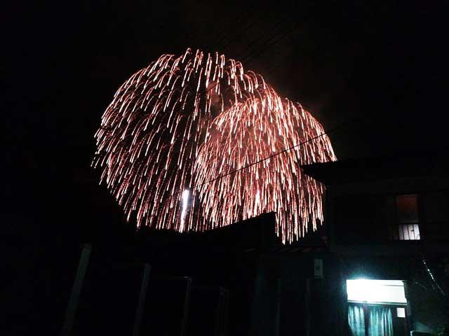秩父夜祭へ行く2019「花火」