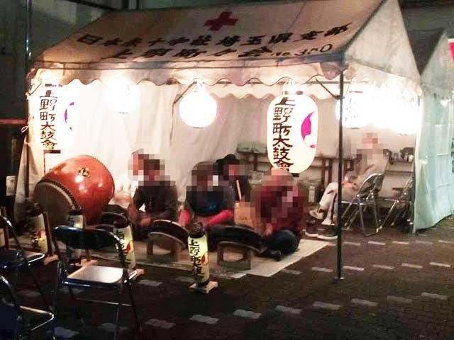 秩父夜祭へ行く2019「太鼓の演奏」