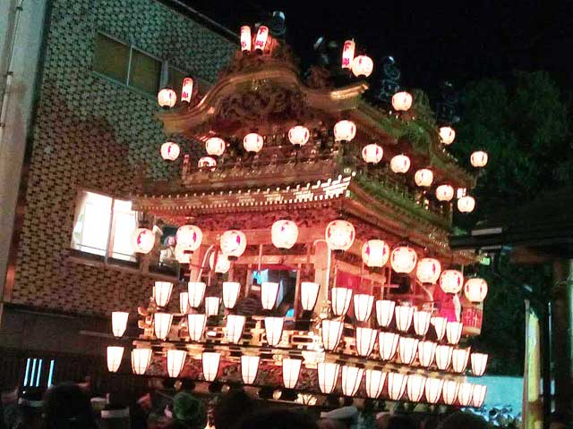 秩父夜祭へ行く2019「笠鉾・屋台」