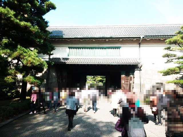 大嘗宮一般参観へ行く「平川門」