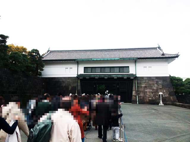 大嘗宮一般参観へ行く「坂下門」
