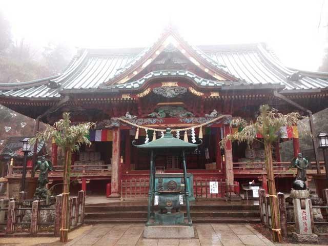 高尾山へ行く「薬王院」